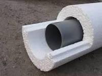 Утеплитель для труб диаметром 108мм х 30мм, Скорлупа СКП10830 пенопласт ПСБ-С-35