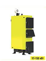 Твердопаливний опалювальний котел тривалого горіння KRONAS UNIC-NEW 75 кВт