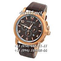 Наручные часы Montblanc Chronograph Series Brown-Gold-Brown реплика