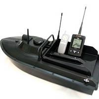 Прикормочный кораблик JABO-2AD20A функцией задний ход модель 2018 г, с эхолотм Lucky FFW718