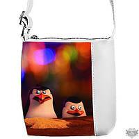 Детская сумка для девочки Little princess с принтом Пингвины 55163