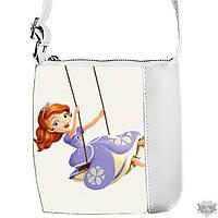 Детская сумка для девочки Little princess с принтом Принцесса София 55159