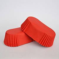 Капсула для эклеров (красная), 40 шт.