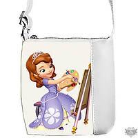 Детская сумка для девочки Little princess с принтом Принцесса София 55158