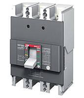 Автоматический выключатель АВВ FormulA c фиксированными настройками A1B 125 TMF 80-800 3p F F