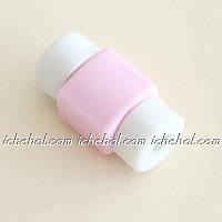Защита для кабеля Lightning Розовая