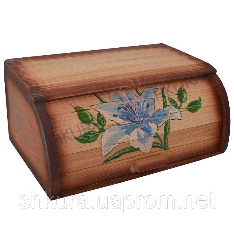 "Хлебница деревянная ""Цветок"""