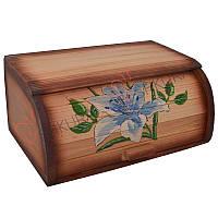 "Хлебница деревянная ""Цветок"", фото 1"