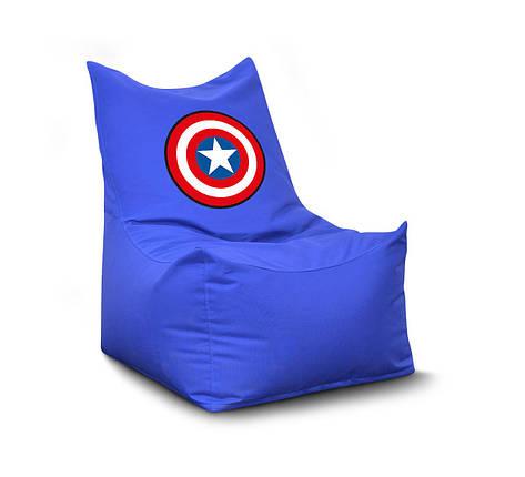 """Кресло-мешок Комфорт """"Капитан Америка"""", фото 2"""