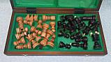 Шахматы деревянные резные размер 51*51, фото 2