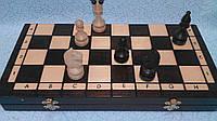 Шахматы деревянные резные размер 41*41 см, фото 1