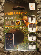Малые лезвия Fiskars QuikDrill (S) 134717, фото 2