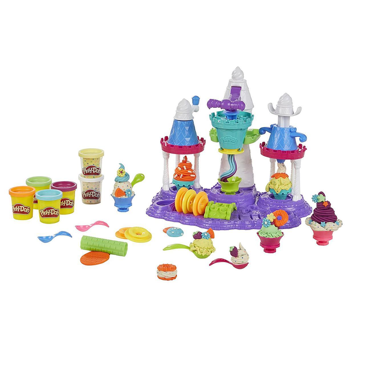 Игровой набор Замок мороженого  Плей До оригинал набор Play-Doh Ice Cream Castle В5523