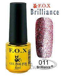 ГЕЛЬ-ЛАК FOX BRILLIANCE № 011