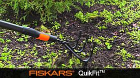 Культиватор с мотыгой от Fiskars QuikFit(1000681/136512), фото 3