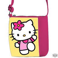 Детская сумка для девочки Little princess с принтом Hello Kitty 55017