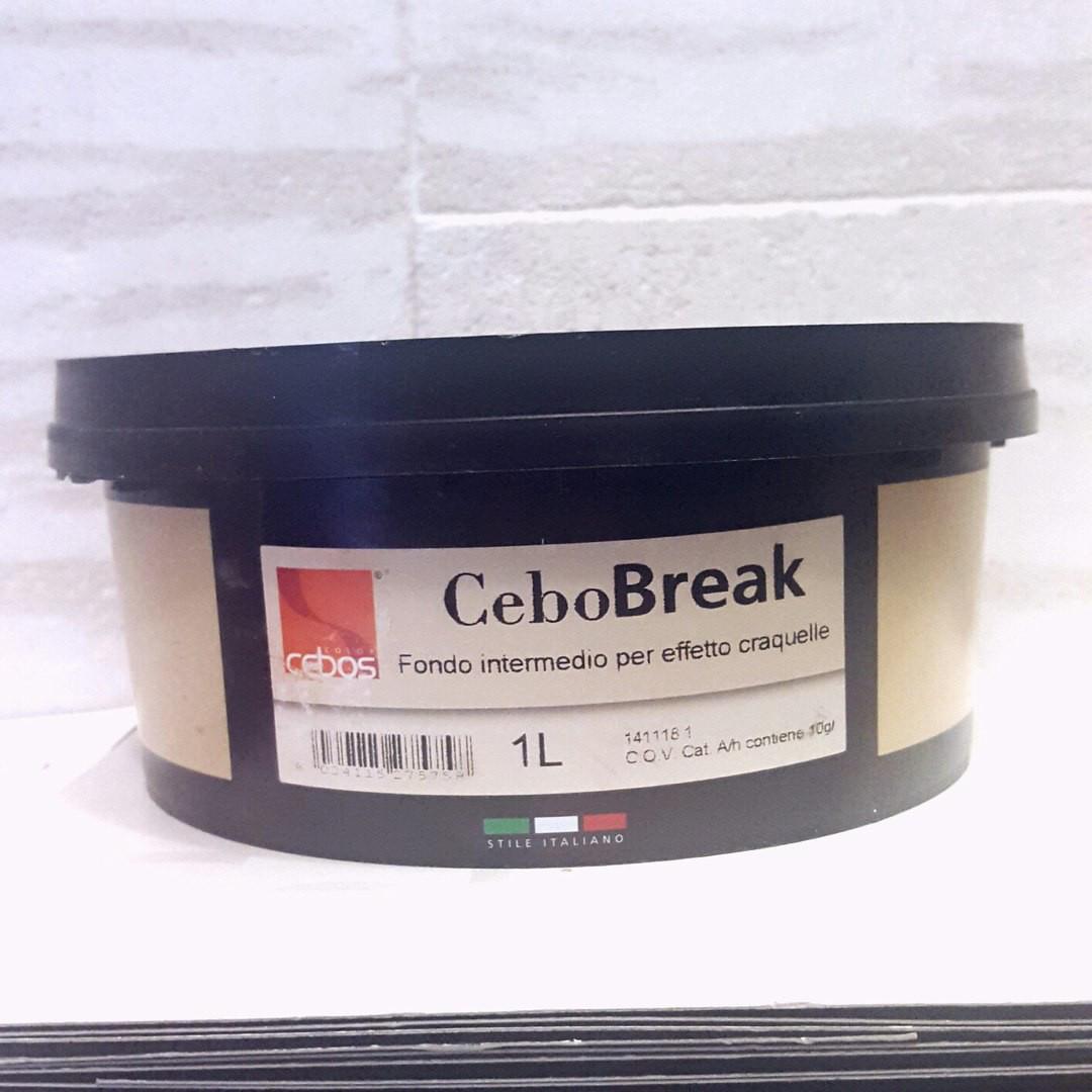 Декоративный лак CeboBreak (1 л). Cebos