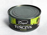 Консервированный тунец кусочками Tunczyk kawalki 170г