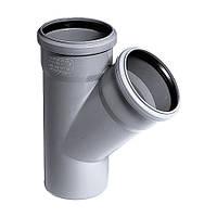 Тройник для внутренней канализации OSTENDORF НТ 75/50х45°