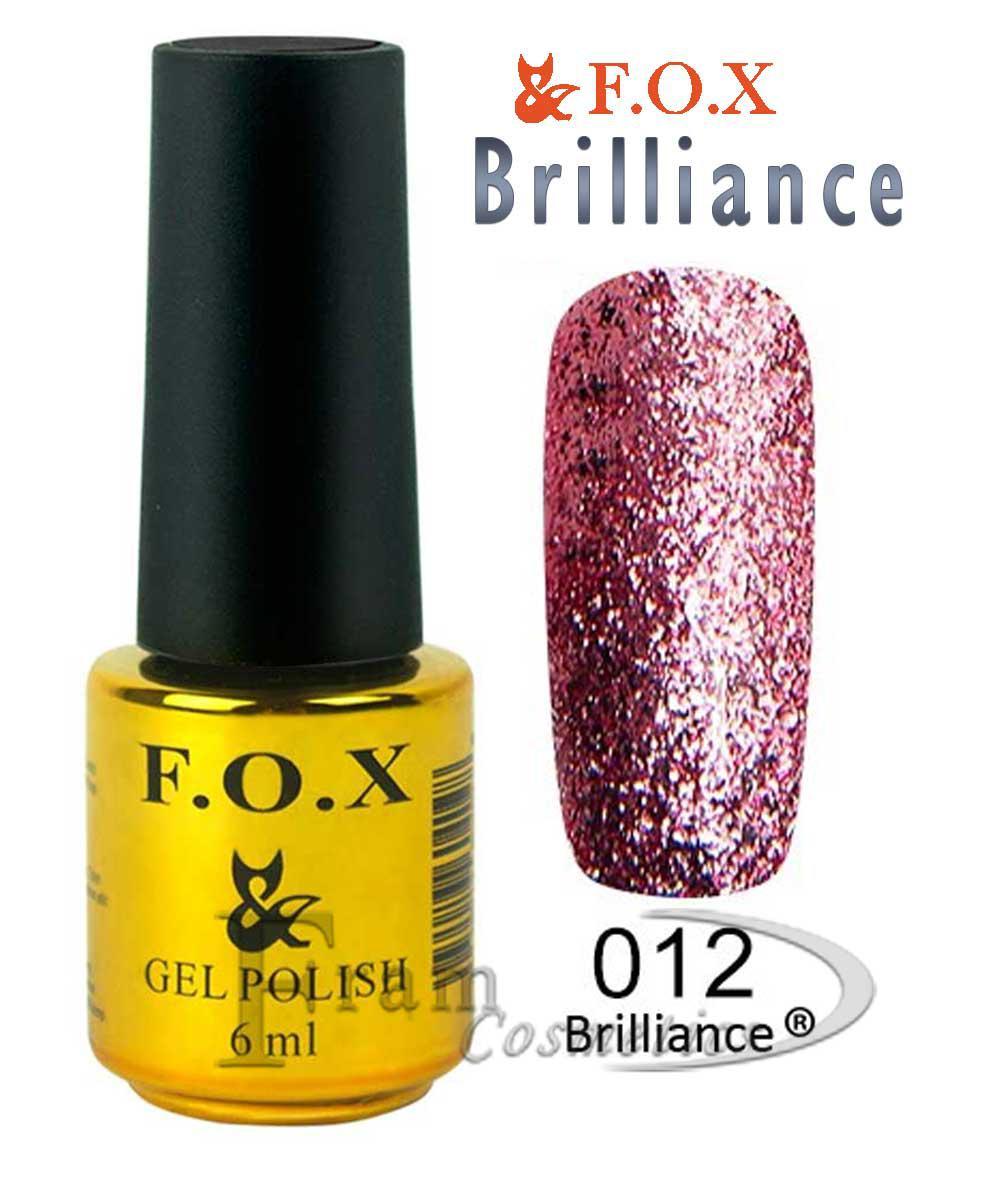 ГЕЛЬ ЛАК FOX BRILLIANCE № 012