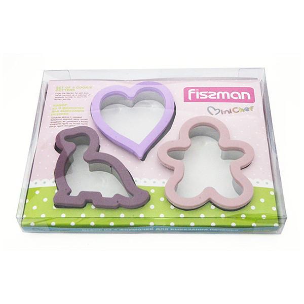 Набор для вырезания печенья 3 шт. Fissman