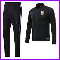 Спортивный костюм Барселоны. Футбольный, тренировочный. Сезон 17/18