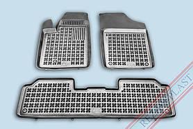 Коврики резиновые в салон Citroen Berlingo `97-`10 Peugeot Partner `97-`08 Rezaw-Plast 201215