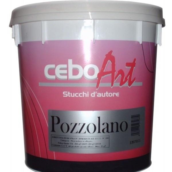Фасадная штукатурка с эффектом травертина Ceboart Pozzolano. Cebos