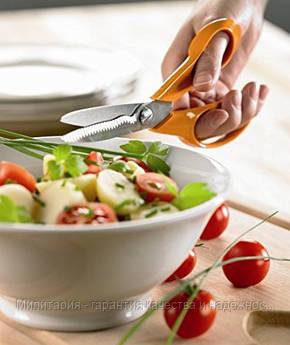 Кухонные ножницы для зелени Fiskars (1000819/859874), фото 2