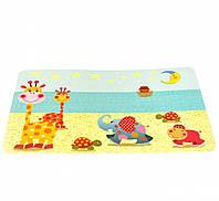 Детский сервировочный коврик на обеденный стол 43x28 см. пластик №3