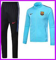 Спортивный костюм Барселоны, Nike. Футбольный, тренировочный. Сезон 17/18