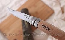 Складной филейный нож с деревянной ручкой Opinel Slim Beechwood No.10 (000517), фото 3