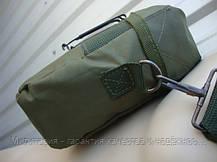 Армейская двух квартовая фляга USA Mil-tec 2Qt. в чехле (1,9 L) (14510001), фото 3