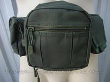 "Тактическая сумка-пояс Mil-tec  оригинал ""FANNY PACK"" (Olive) (13514001), фото 2"