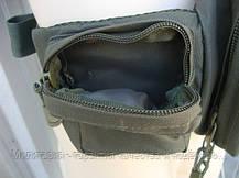 "Тактическая сумка-пояс Mil-tec  оригинал ""FANNY PACK"" (Olive) (13514001), фото 3"