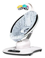 4Moms - Кресло-качалка mamaRoo, цвет Silver plush, фото 1