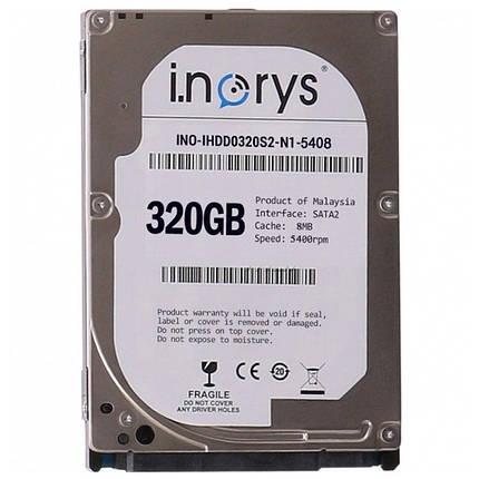 "Жесткий диск i.norys 2,5"" 320GB 5400rpm 8MB (INO-IHDD0320S2-N1-5408) компьютерный, фото 2"