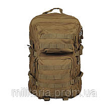 "Туристический однолямочный рюкзак Mil-tec ""ONE STRAP ASSAULT PACK SM"" Coyote на 40 л. (14059205), фото 3"