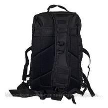 "Туристический однолямочный рюкзак Mil-tec ""ONE STRAP ASSAULT PACK SM"" Black на 40 л. (14059202), фото 3"