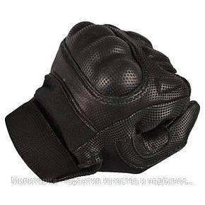 Тактические перчатки MIL-TEC ACTION GLOVES FLAMMH Black (12520202), фото 2