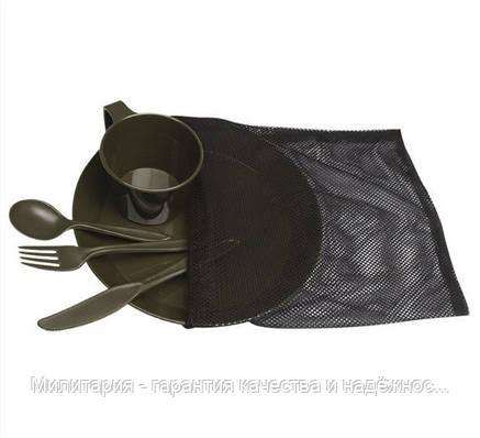 Туристический столовый набор на 5 предметов (1 персона) Mil-Tec TELLER (14681000), фото 2