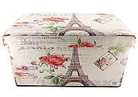 Пуфик Париж прикроватный с ящиком