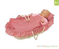 """GOKI Игрушечная кроватка """"Колыбель для моей куклы"""""""