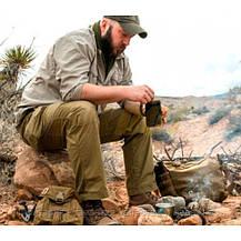 Тактическая сумка для выживания Helikon-Tex Bushcraft Satchel Coyote (TB-BST-CD-11), фото 2