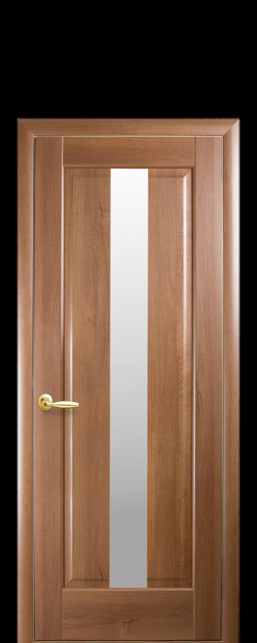 """Межкомнатные двери """"Премьера"""" полотно со стеклом сатин"""