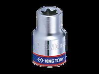 "Головка торцевая TORX Е-стандарт 1/4"" E4-8 короткая 24мм KING TONY"