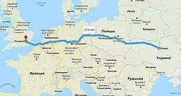 Доставка личных вещей из Киева в Лондон под ключ