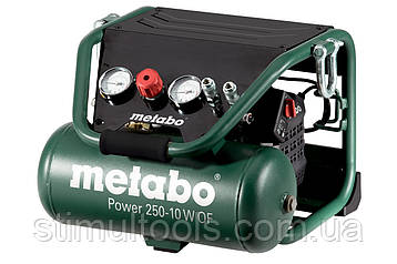 Безмасляний компресор Metabo POWER 250-10 W OF