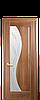 """Межкомнатные двери """"Эскада"""" со стеклом сатин и рисунком"""