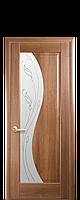 """Межкомнатные двери """"Эскада"""" со стеклом сатин и рисунком, фото 1"""